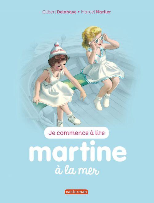 Je commence à lire avec Martine T.21 ; Martine à la mer