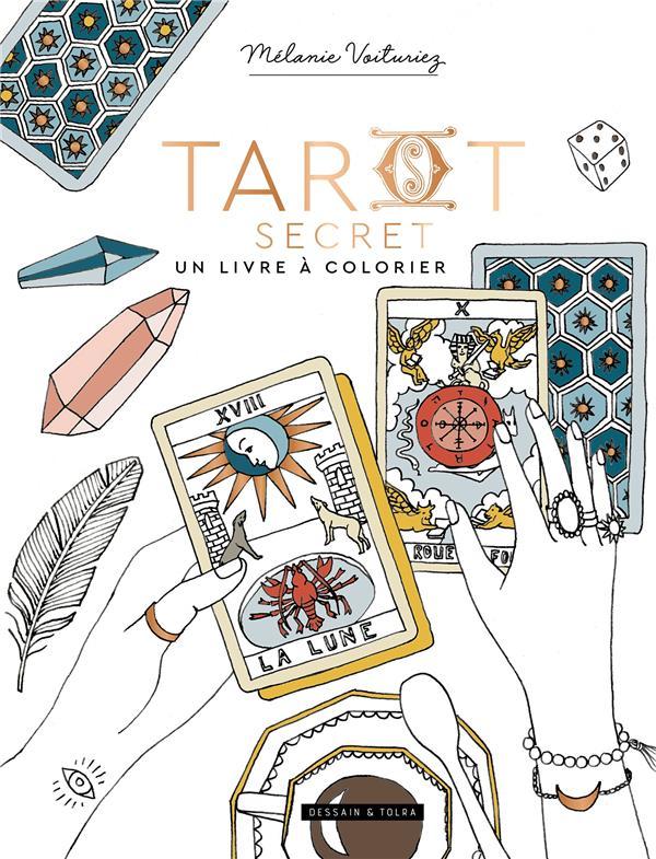 Tarot secret : un livre à colorier