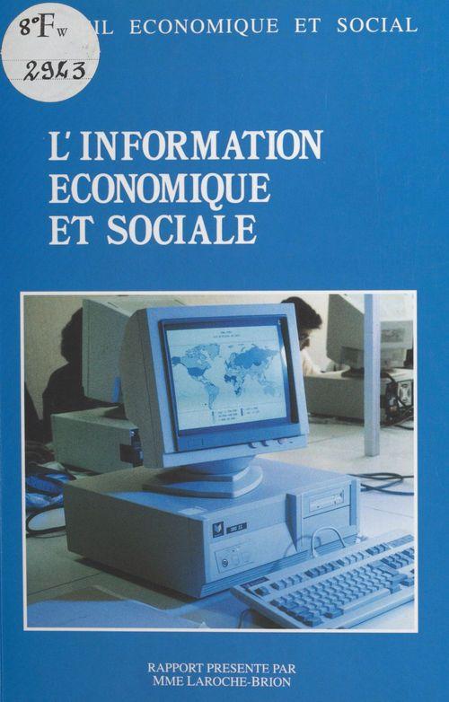 L'information économique et sociale