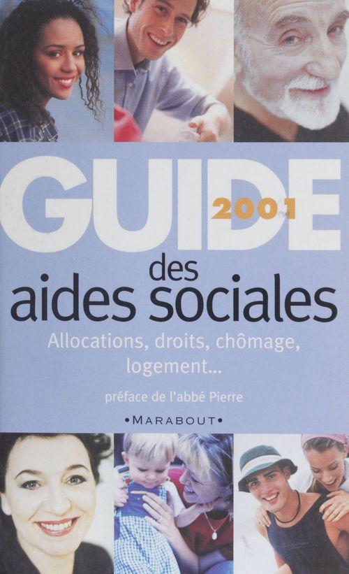 Le guide 2001 des aides sociales