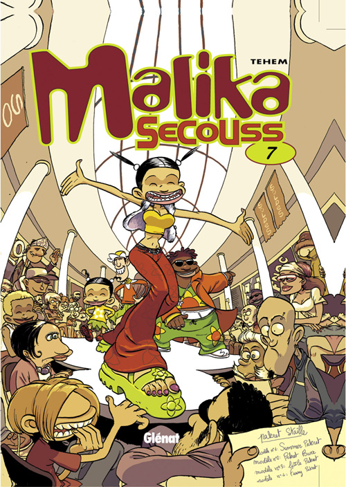 Malika secouss t.7