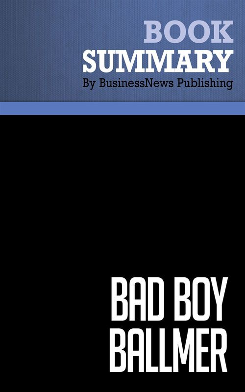 Bad boy Ballmer