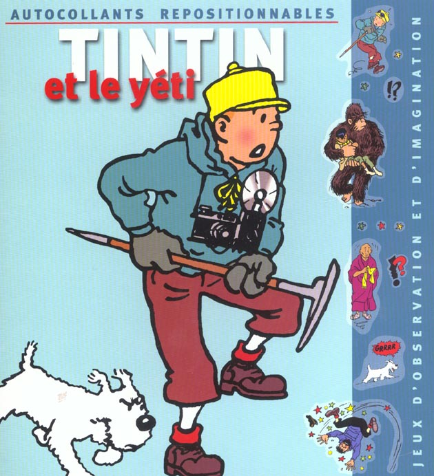 Tintin et le yeti