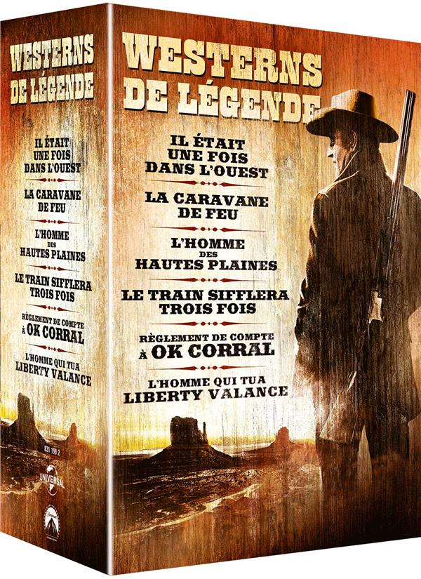 Westerns de légende - Coffret 6 films