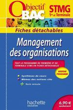Vente Livre Numérique : Objectif Bac - Fiches détachables - Management des organisations 1re et Tle STMG  - Jean-Bernard Ducrou