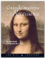 Grands maîtres de la Renaissance