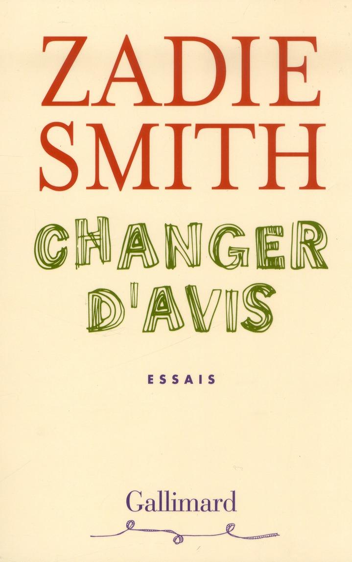 Changer D'Avis