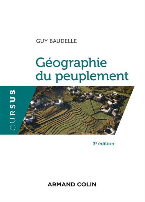 Géographie du peuplement (3e édition)