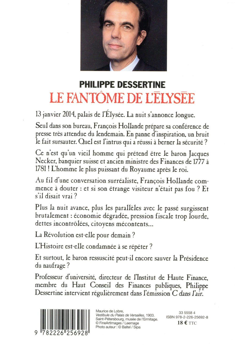 Le fantôme de l'Elysée ; visite impromptue du Baron Necker à François Hollande