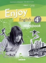 ENJOY ENGLISH IN ; 4ème ; workbook (édition 2008)