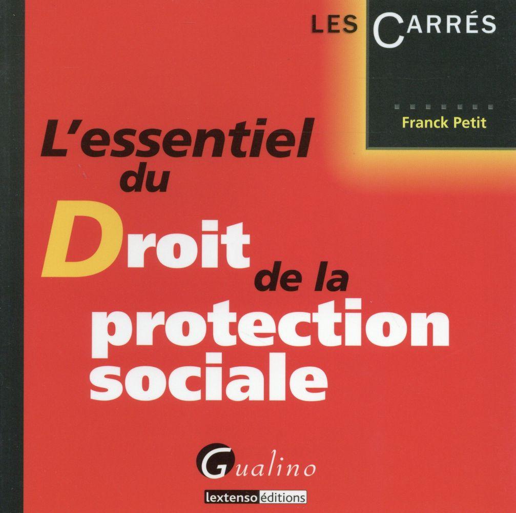 L'essentiel du droit de la protection sociale 2015