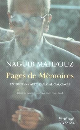 Pages De Memoire ; Entretiens Avec Ragga Al Naqqach