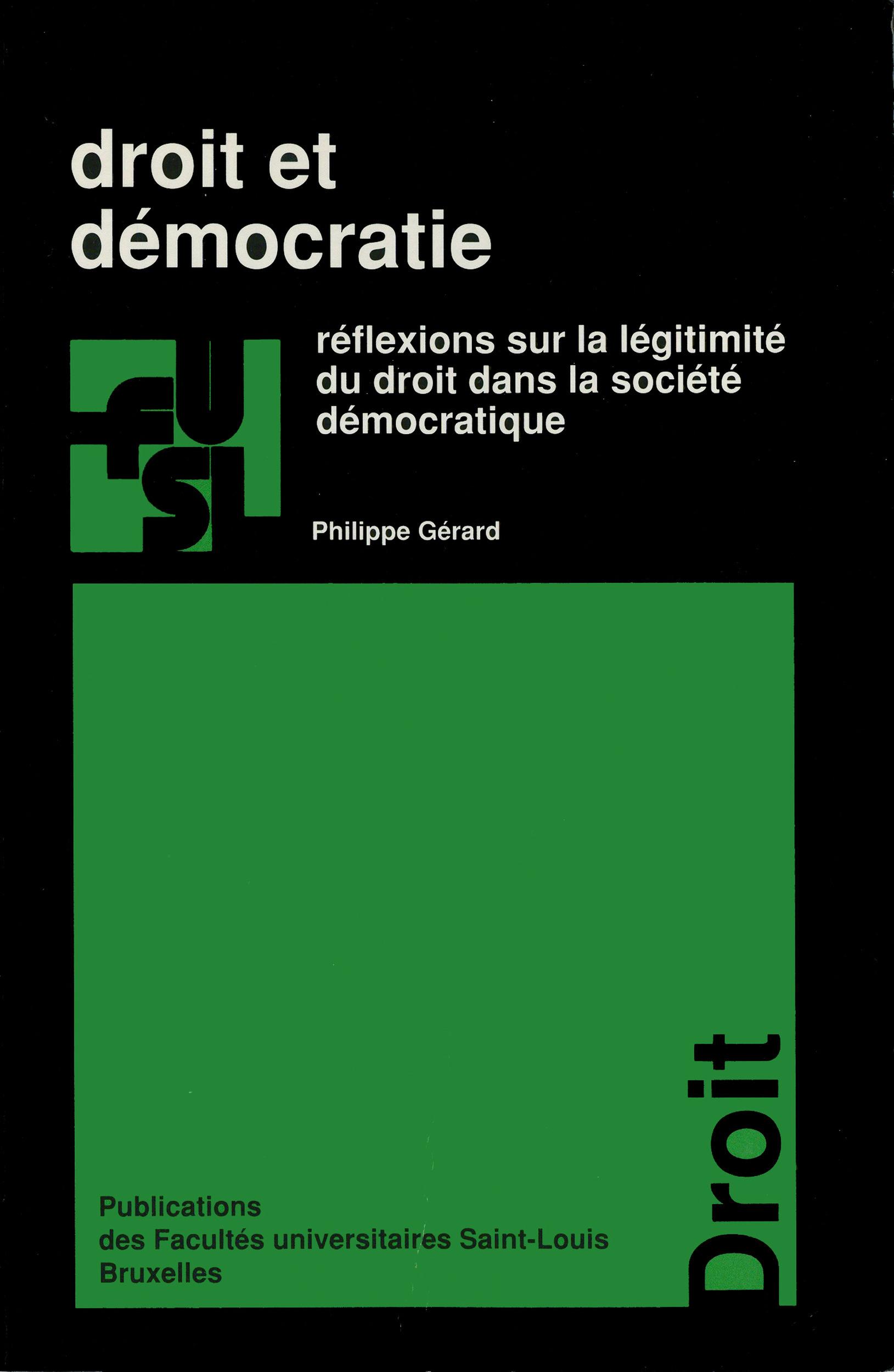 Droit et democratie