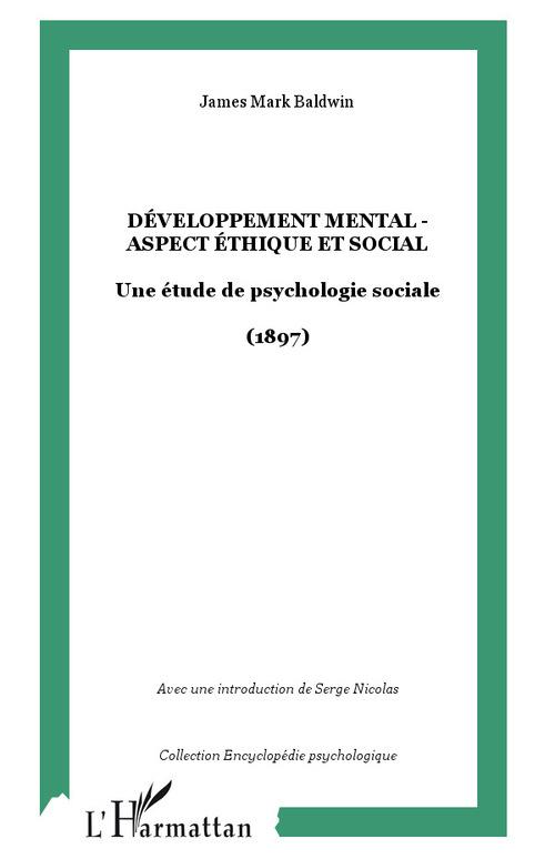 Développement mental - Aspect éthique et social