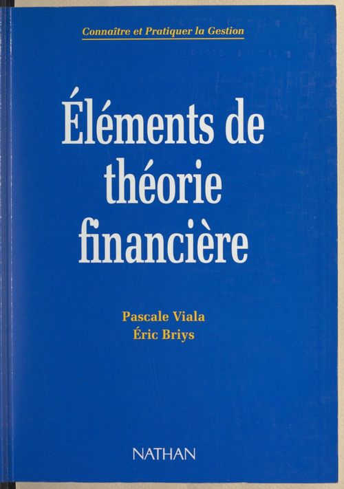 Éléments de théorie financière