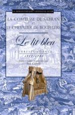 Lit bleu ; correspondance 1777-1785