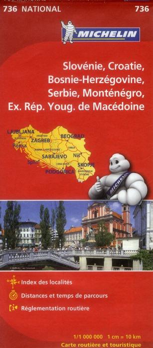 SLOVENIE  -  CROATIE  -  BOSNIE-HERZEGOVINE  -  SERBIE  -  MONTENEGRO  -  EX-REPUBLIQUE YOUGOSLAVE DE MACEDOINE