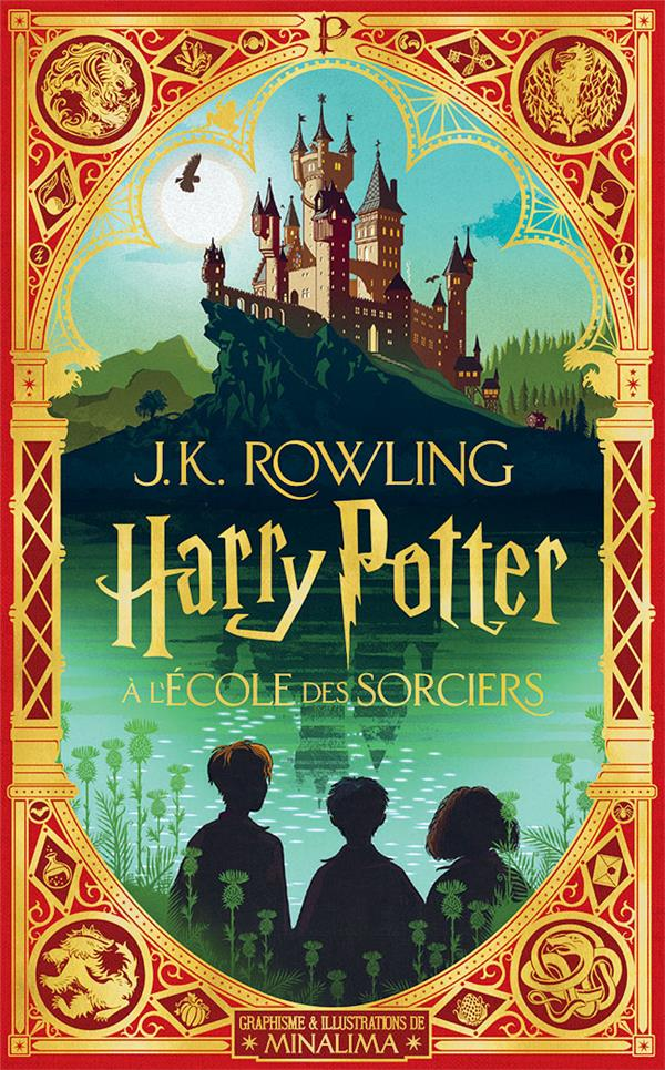 HARRY POTTER T.1  -  HARRY POTTER A L'ECOLE DES SORCIERS
