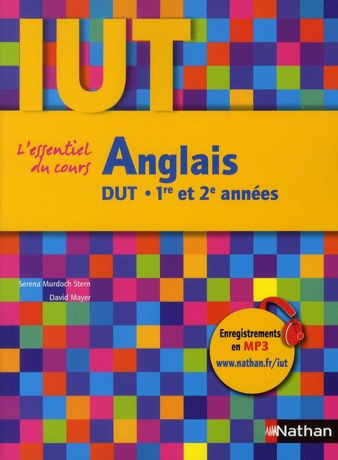 Anglais ; DUT ; 1ère et 2ème années (édition 2011)