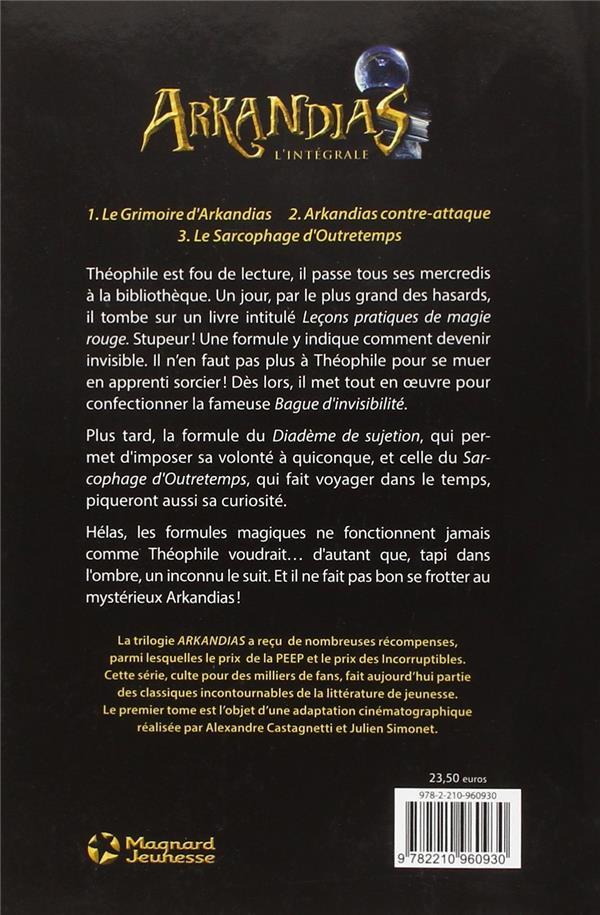 Arkandias ; Intégrale t.1 à t.3