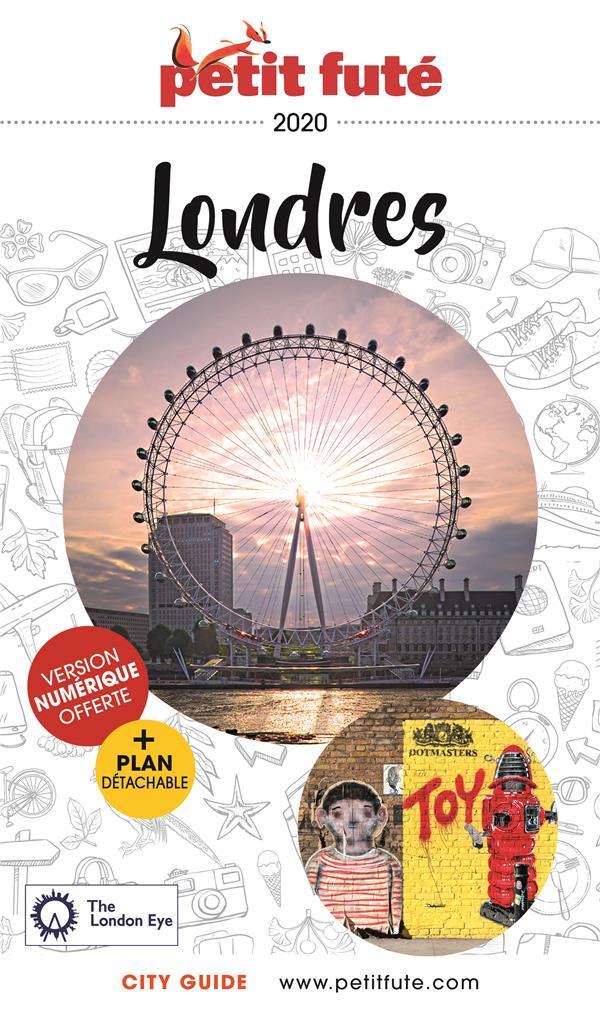 GUIDE PETIT FUTE ; CITY GUIDE ; Londres (édition 2020)
