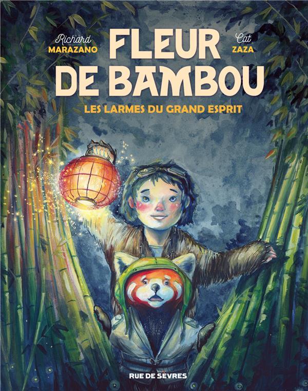Fleur de Bambou t.1 ; les larmes du grand esprit