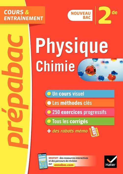 Prépabac ; physique-chimie ; 2nde