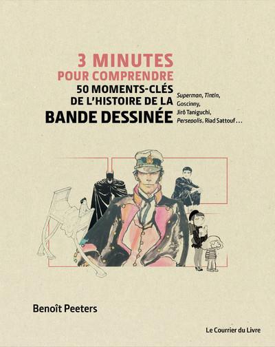 3 minutes pour comprendre 50 moments-clés de l'histoire de la bande dessinée