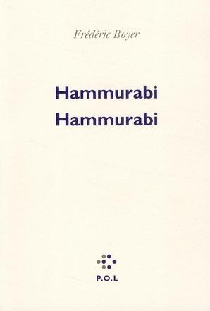 Hammurabi, Hammurabi