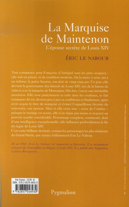 La marquise de maintenon