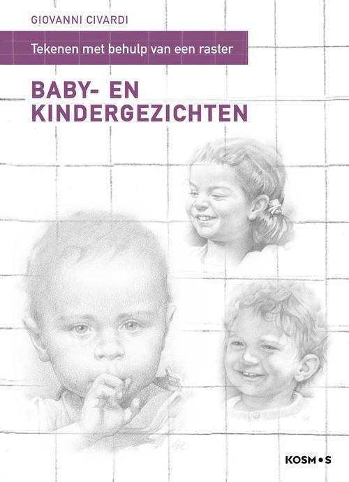 Tekenen met behulp van een raster - Baby- en kindergezichten