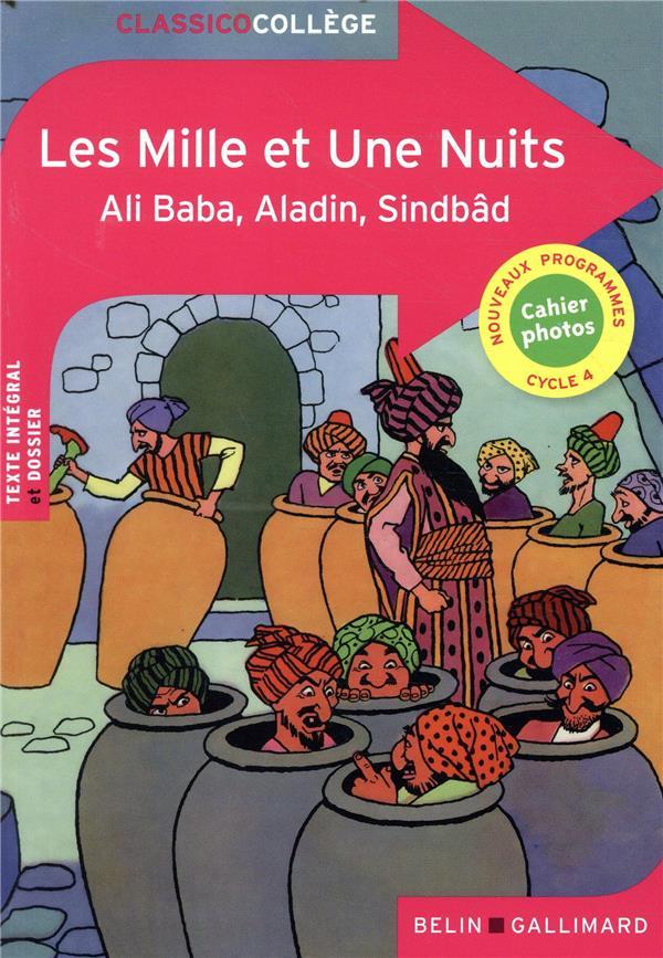 Les mille et une nuits, Ali baba, Aladin, Sindbâd