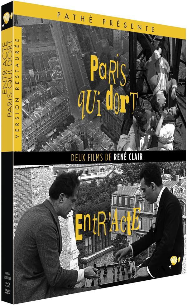 Deux films de René Clair : Entr'acte + Paris qui dort