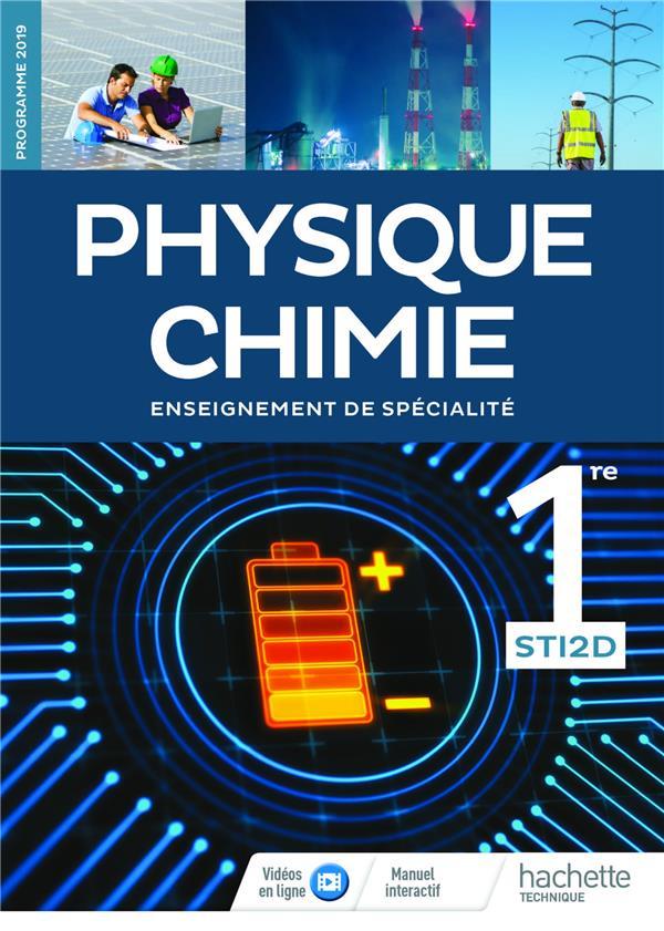 Physique-chimie ; 1re STI2D ; livre de l'élève (édition 2019)