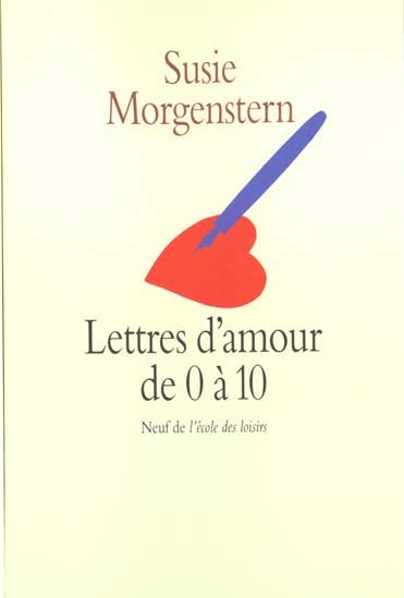 Lettres D Amour De 0 A 10