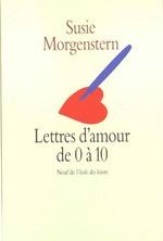 Couverture de Lettres d'amour de 0 à 10