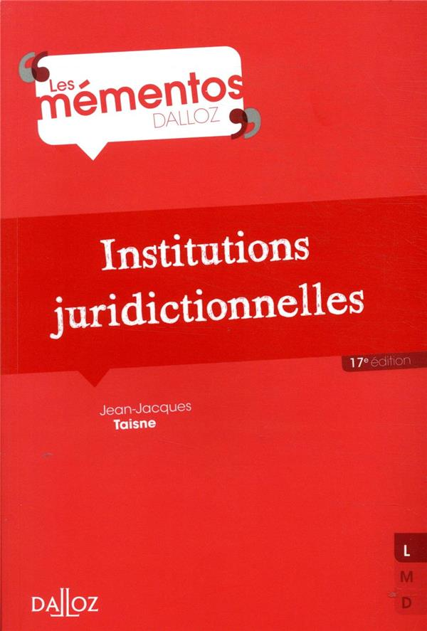 Institutions juridictionnelles