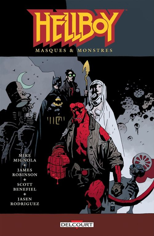 Hellboy T.14 ; masques & monstres
