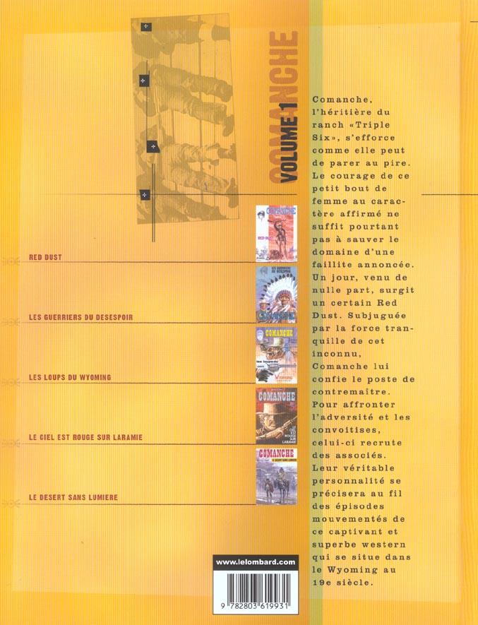 Comanche ; Intégrale vol.1 ; t.1 à t.5