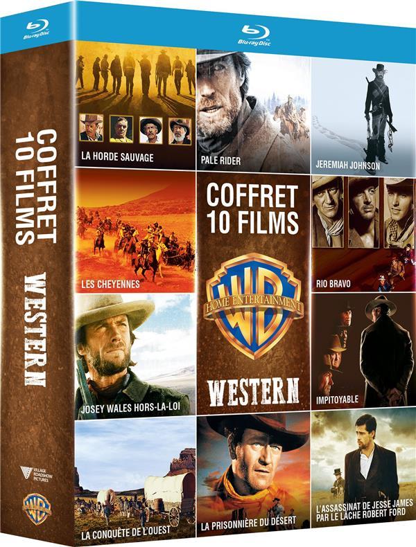 Collection de 10 films de Western Warner