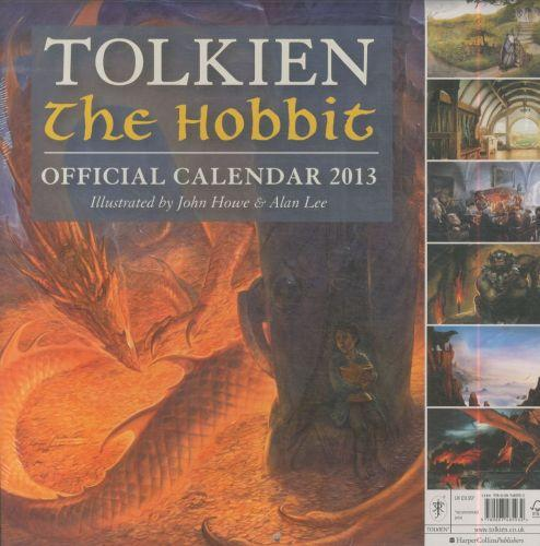 Tolkien the hobbit: official calendar 2013
