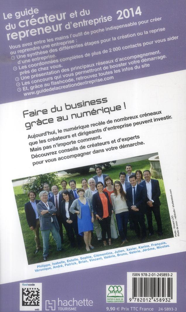 Guide du Routard ; du créateur et du repreneur d'entreprise (édition 2014)