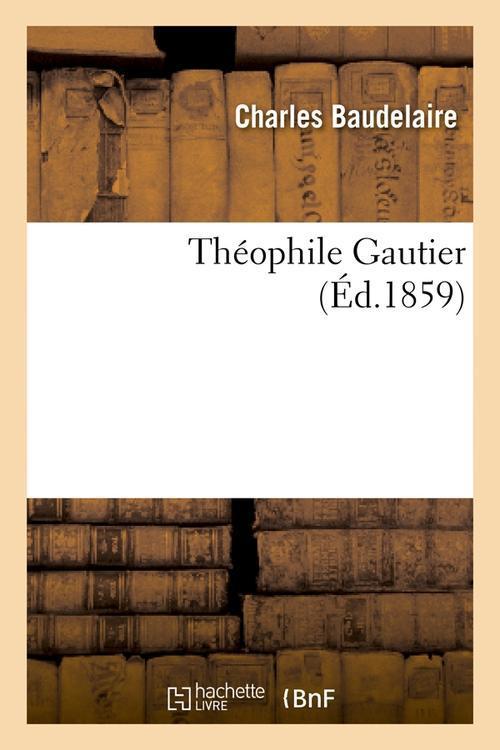 Théophile Gautier (édition 1859)