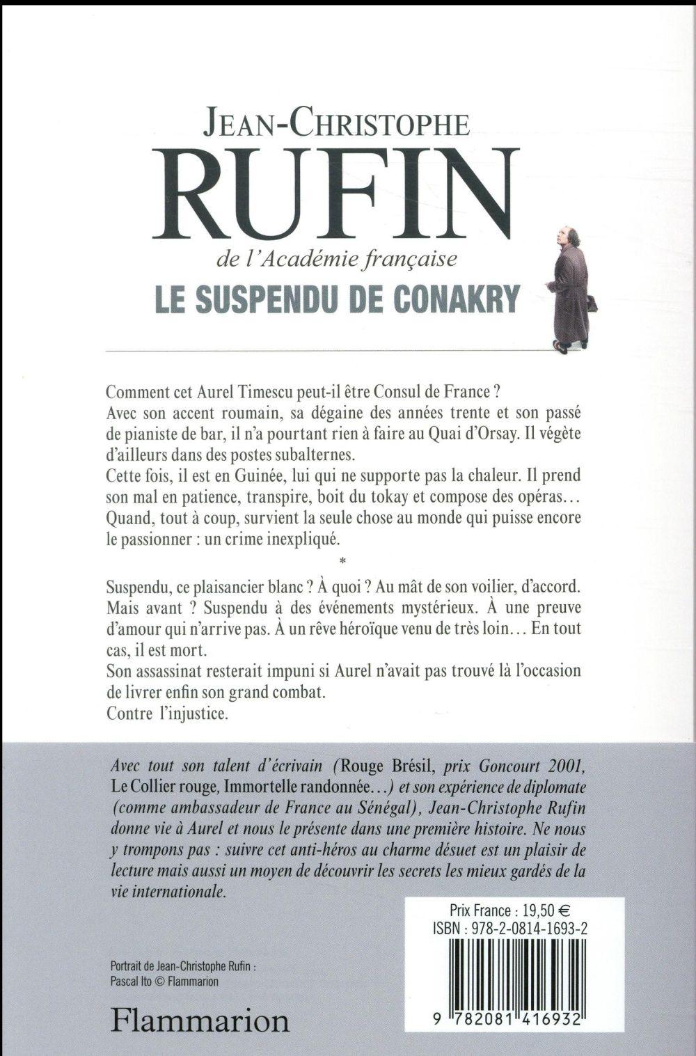 Les énigmes d'Aurel le consul T.1 ; le suspendu de Conakry