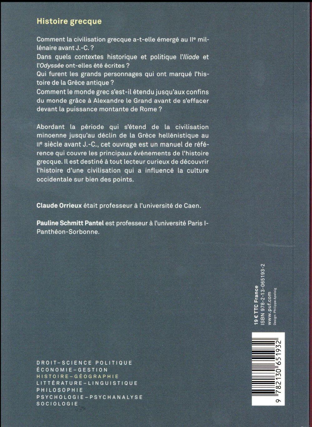 histoire grecque (3e édition)