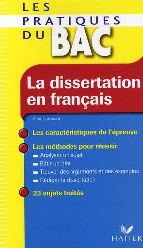 La Dissertation En Francais