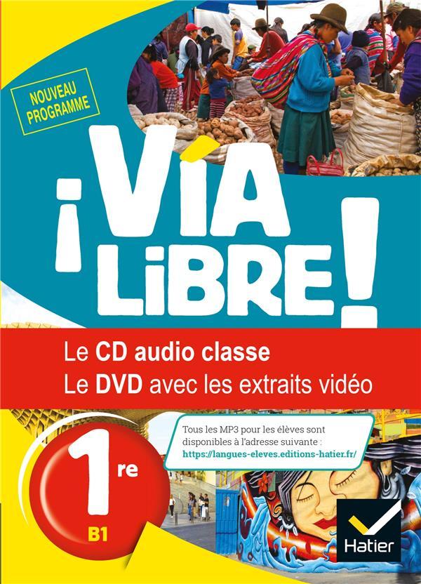 Via Libre ; Espagnol ; 1re ; Coffret Cd/Dvd (Edition 2019)