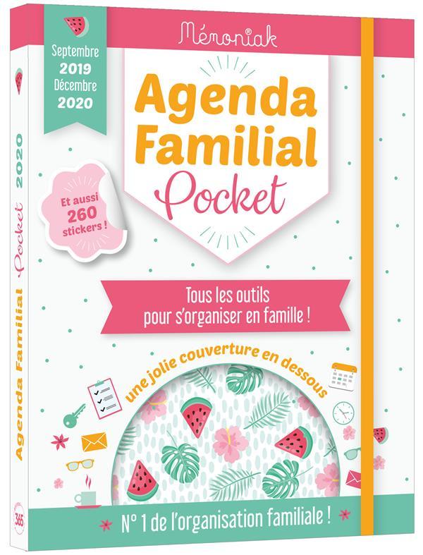 Mémoniak ; agenda familial pocket (édition 2019/2020)