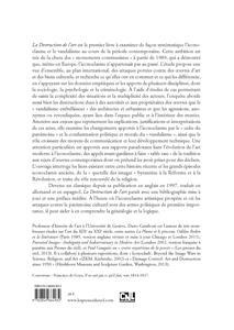 La destruction de l'art ; iconoclasme et vandalisme depuis la Révolution française