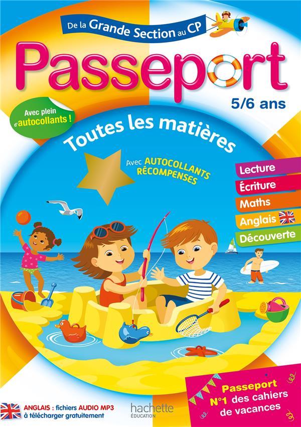 Passeport ; de la grande section au CP ; toutes les matières
